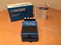 Boss CS3 compressor effects pedal