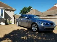 BMW 5 Series, FSH, CREAM LEATHER, XENON