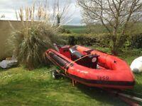 14ft rib..boat...£600ono downpatrick