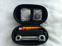 Bike Puncture Repair Tool Kit in Case