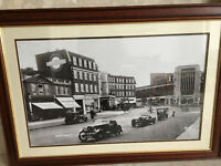 Huge Framed Photograph of Hendon Central in 1936 (Suit Office or Shop, or over Fireplace)