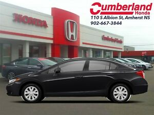 2012 Honda Civic LX - Bluetooth -  A/C -  Cruise Control