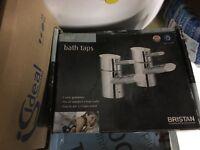 Bristan oval bath taps