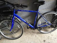 mens apollo Bicyle blue Very little use Very good condition
