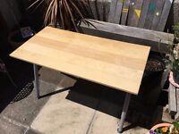 IKEA Hight Adjustable Desk (GALANT) Big sized Birch Desk