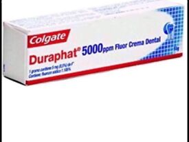 Duraphat 5000 ppm tooth paste is £15.99 great for gums brand new sealed
