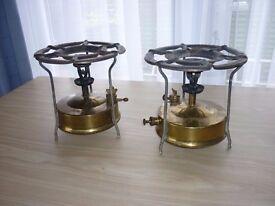 Brass Primus stoves x 2