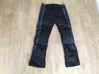 Motorbike Trousers Armoured. Size 32. Excellent Condition. Frank Thomas Rst Alpinestars