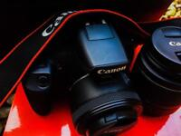 Canon 1300D with 50mm F1.8 lense