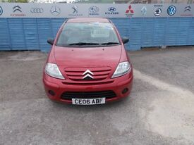 PART X DIRECT OFFERS A CITREON C3 1.4 HDI WITH A NEW MOT AND SERVICE AND ONLY £30.00 ROAD TAX!!!