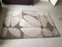 Dunelm pebble design rug