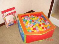 Child's Pop-up Ball Pit