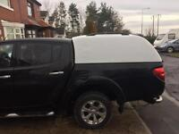 Mitsubishi L200 rear canopy 2010-2015. Swap for roller shutter.