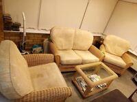 4 piece conservatory suite