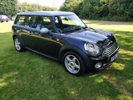 MINI Clubman 1.6 Cooper 2008, Serviced this year,2 keys,MOT with no Advisorys, Aircon,Leather,Alloys