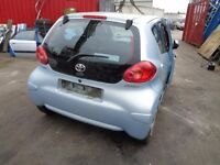 BREAKING TOYOTA AYGO 2008 - ALL SPARES AVAILBLE -ENGINE? GEARBOX? WINDOW? TAILGATE? AXLE? ECU KIT?