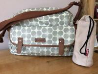 Babymel Changing Bag and Insulated bottle bag