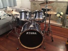 Tama Superstar with Hardcases