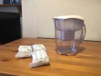 BRITA Elemaris XL Water Filter Jug 3.5 Liters with 3 filters