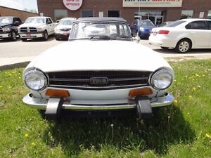 1974 Triumph TR6 MUST SEE,V6,VERY CLEAN