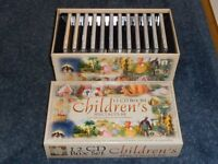 Box Set of Children's CD collection of stories and songs