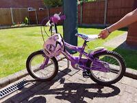 Girl's Outdoor Bike with Helmet