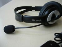 Microsoft LifeChat LX-3000 USB Headset with Microphone