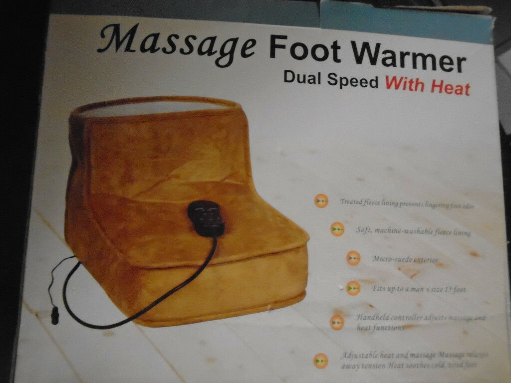 MASSAGER FOOT WARMER & INFLATABLE FOOT REST