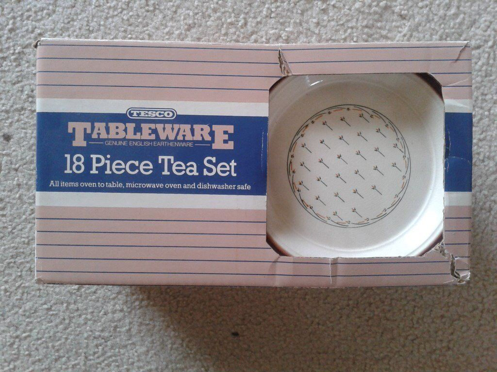 BRAND NEW 18 PIECE TEA SET