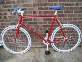 Fixation London bike (fixie, single speed, fixed gear)