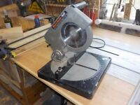 Black and Decker Chop Saw (Compound Mitre Saw). Well used but still cuts cleanly and accurate