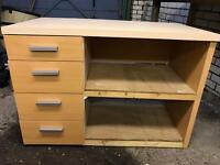 Worktop, storage