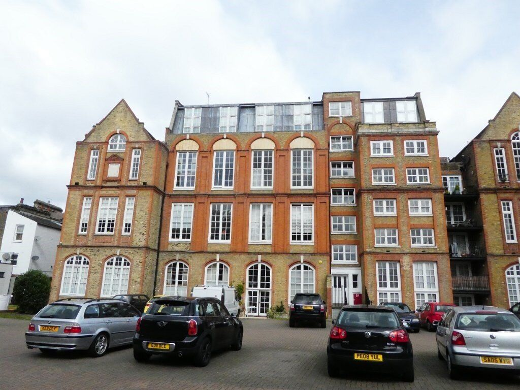 Walworth SE5. School conversion, double height lounge, 2 double beds, 2 baths, parking