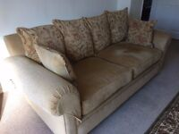 2 x Large 4 seater high quality settee's by Derwent Upholstery