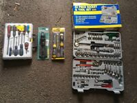 Collection of assorted as new hand tools.