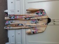 Silky ladies dressing gown size 8/10