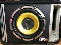 """Vibe Black Death 12"""" 1800w with built in amp"""