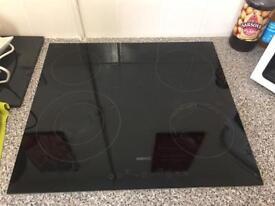 Beko black glass 4 burner hob only used 20-30 times max!
