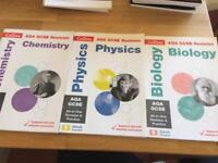GCSE AQA Science Biology Chemistry Physics Revision Guide Workbook