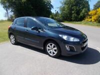 2011 61 PEUGEOT 308 1.6 HDI ACTIVE 5 DOOR HATCHBACK CALL 07791629657 IN LOVELY METALLIC BLUE