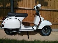 For sale original Piaggio Vespa PX 125 efl year 1986