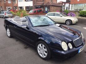 MERCEDES CLK320 CONVERTIBLE.