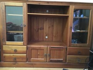 Solid Timber TV Display Unit Taringa Brisbane South West Preview