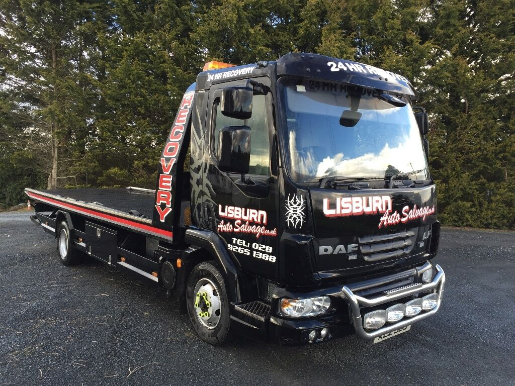 2007 Daf Lf Recovery Lorry In Ballinderry Upper County
