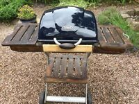 Outback Charcoal Barbecue with cover