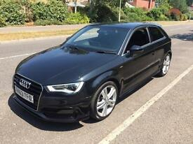 Audi A3 FASH S-line 1.8TFSI A3 Quattro start/stop auto with all extras