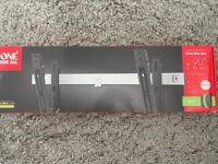 Brand New One For All Ultra Slim 32 - 90in Tilt TV Wall Bracket Universal mount
