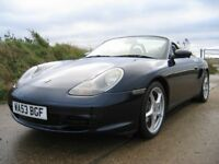 PORSCHE BOXSTER - BEST COLOURS, GREAT SERVICE HISTORY, HUGE SPEC AND OUTSTANDING CONDITION!