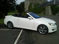 2009 Lexus 250is convertable