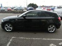 ONLY 43K MILES !!! 2010 10 BMW 1 SERIES 2.0 116I SPORT 3D 121 BHP **** GUARANTEED FINANCE ****